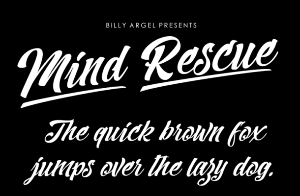 Mind Rescue Font Free Download
