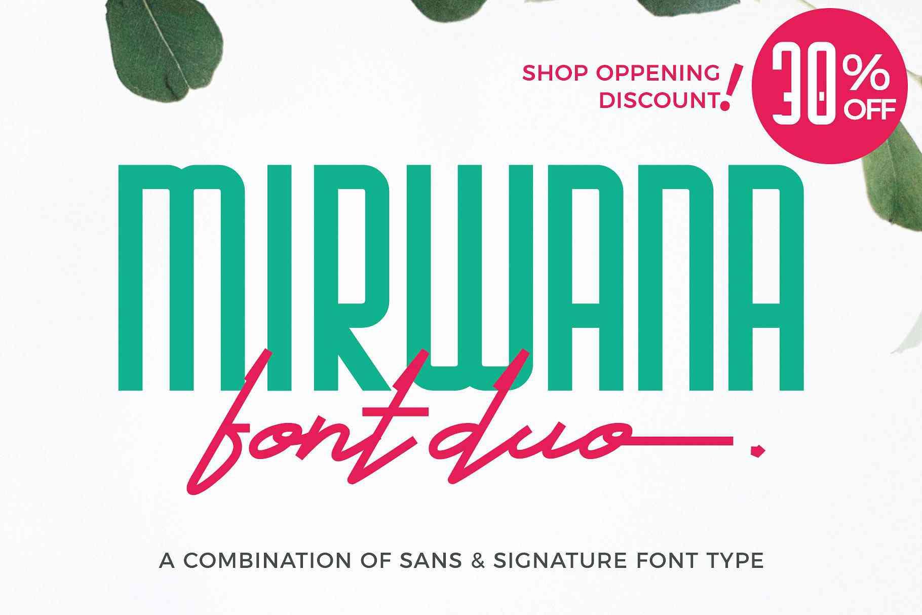 mirwana-font-family