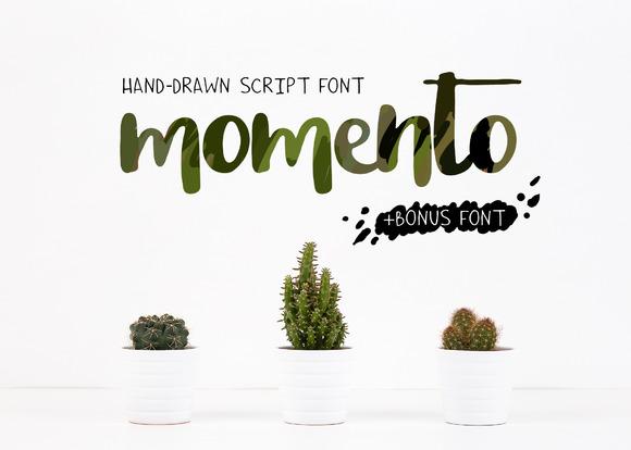 momento-script-font