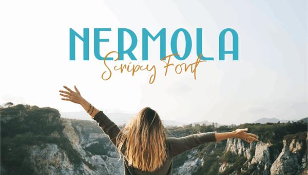 Nermola Script Font Free Download