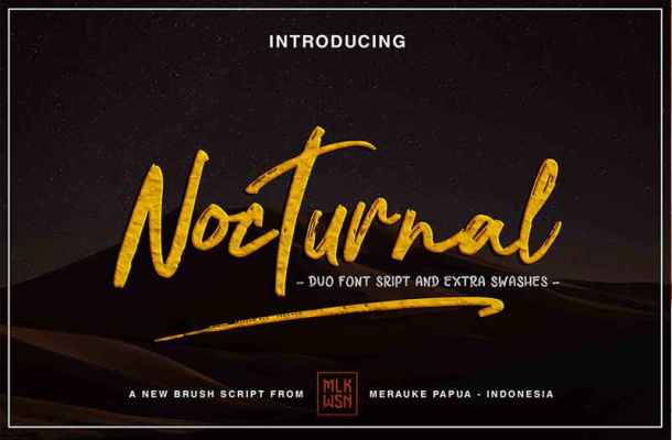 Nocturnal Font Free Download