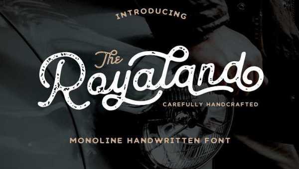 Royaland Script Font Free Download