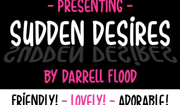 Sudden Desires Font Free Download