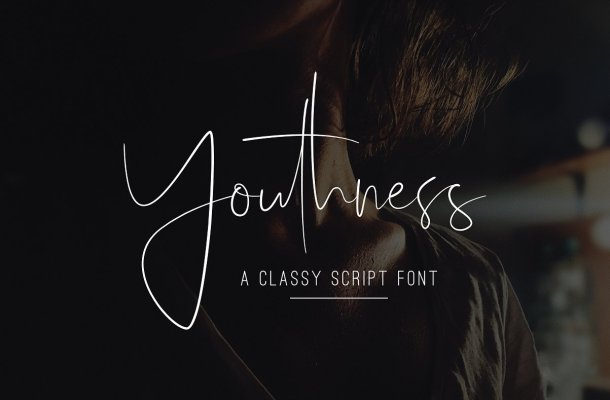 Youthness Script Font Free Download