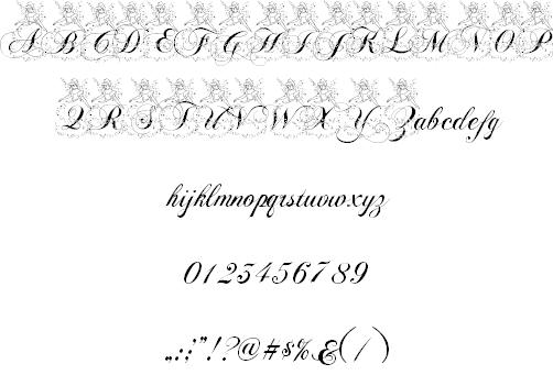 AL Cinderella font - Dafont Free