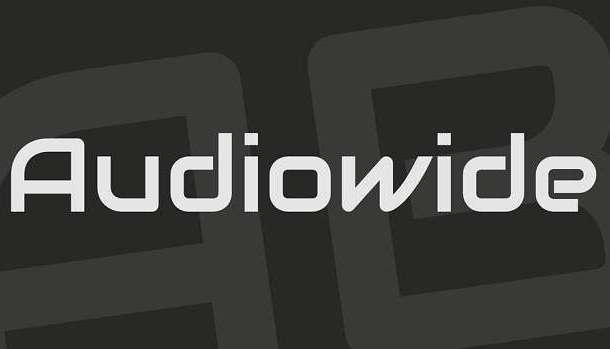 Audiowide Font