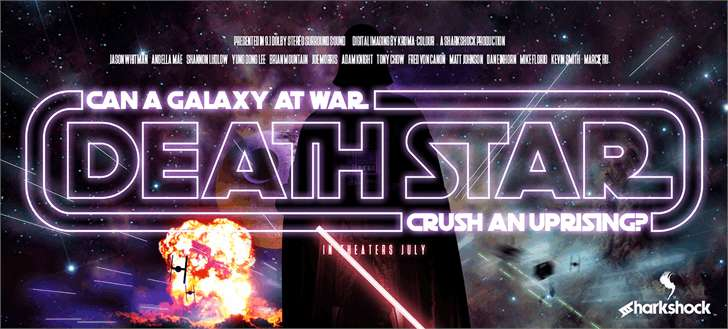 Death Star font