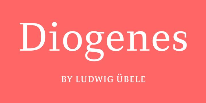 Diogenes-font
