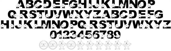LMS Googly Bear font 2