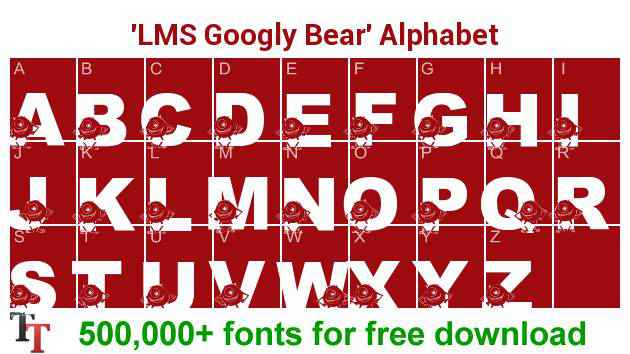 LMS Googly Bear