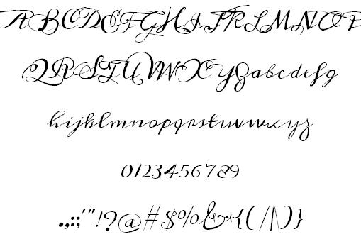 Meddon font 2
