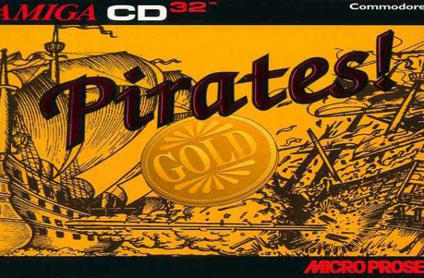 Pirates Gold font