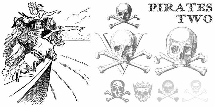 Pirates Two font 2