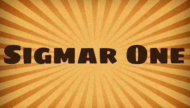 Sigmar One Font