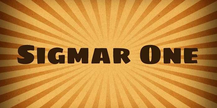 Sigmar One