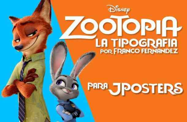 Zootopia JPosters font
