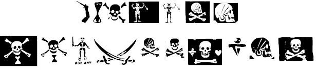pirates pw font 2
