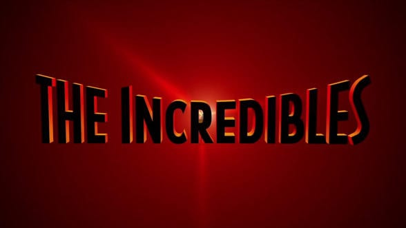 the Incredibles font