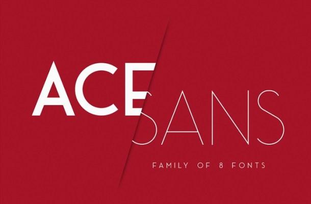 Ace Sans Font