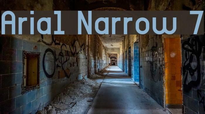 Arial Narrow Font - Dafont Free