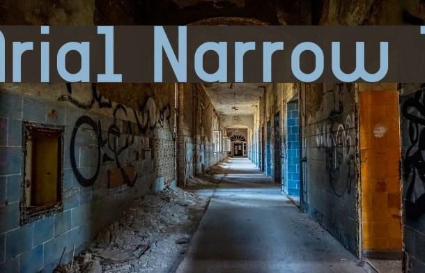 Arial Narrow Font