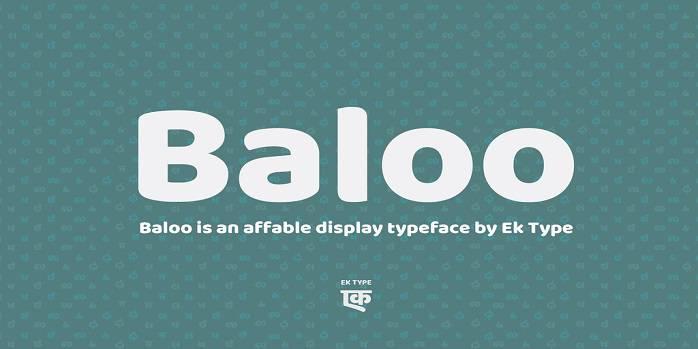 Baloo Paaji Font