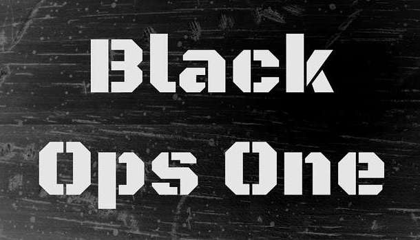Black Ops One Font
