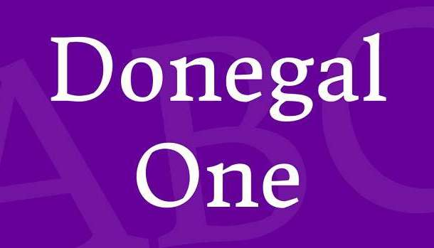 Donegal One Font