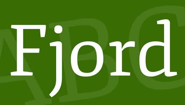 Fjord One Font