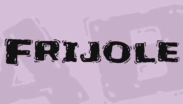 Frijole Font
