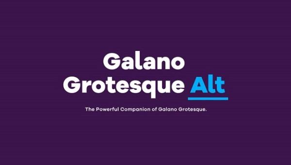 Galano Grotesque Font