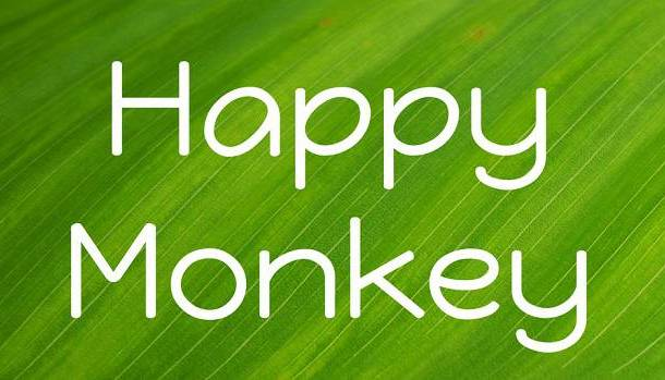 Happy Monkey Font
