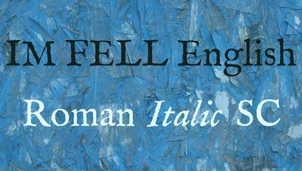 IM Fell English Font