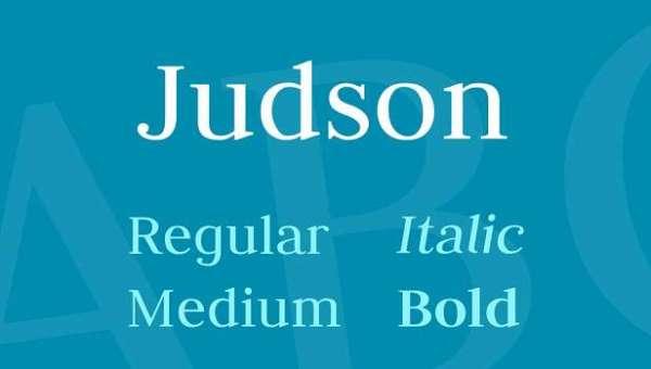 Judson Font