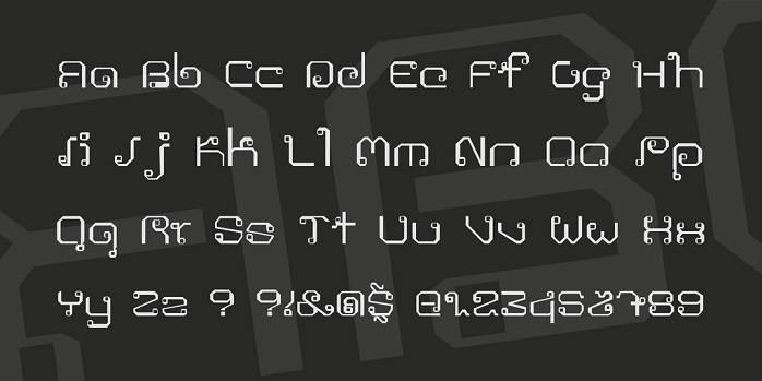 Khmer Font - Dafont Free