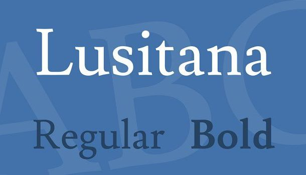 Lusitana Font