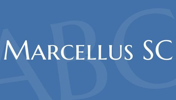 Marcellus SC Font