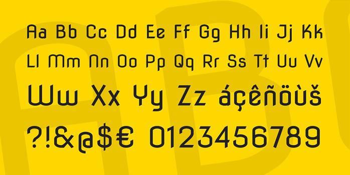 Nova Flat Font-1