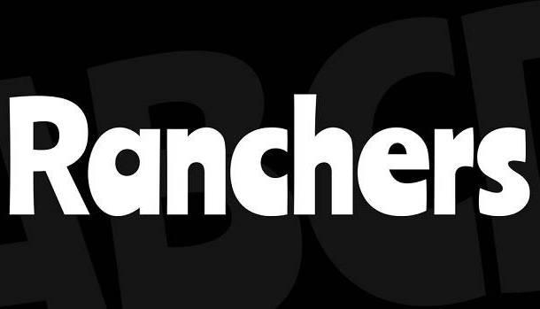 Ranchers Font