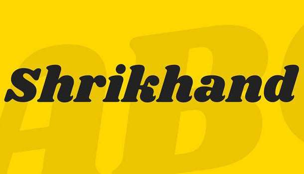 Shrikhand Font