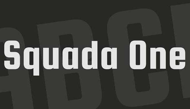 Squada One Font