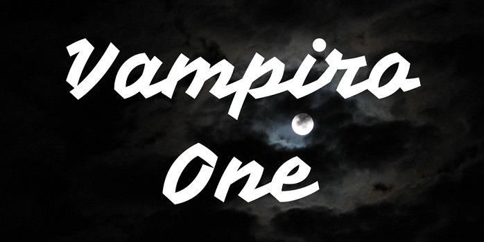 Vampiro One Font