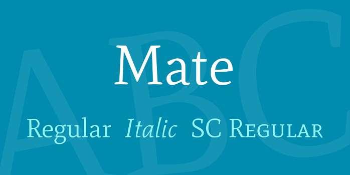 mate-font