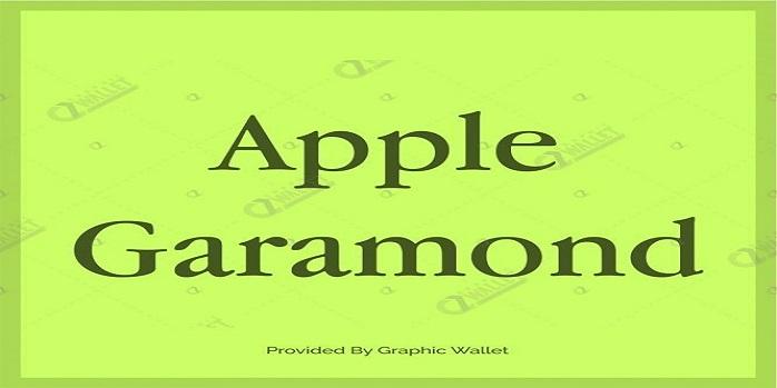 Free Font Like Garamond