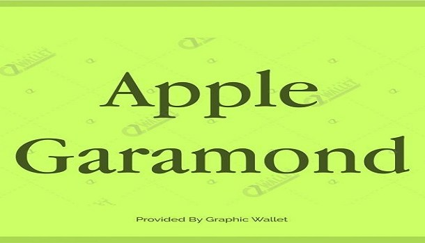 Apple Garamond Font Family