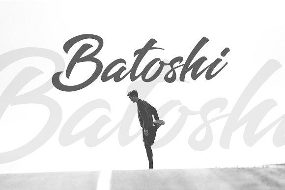 Batoshi Font