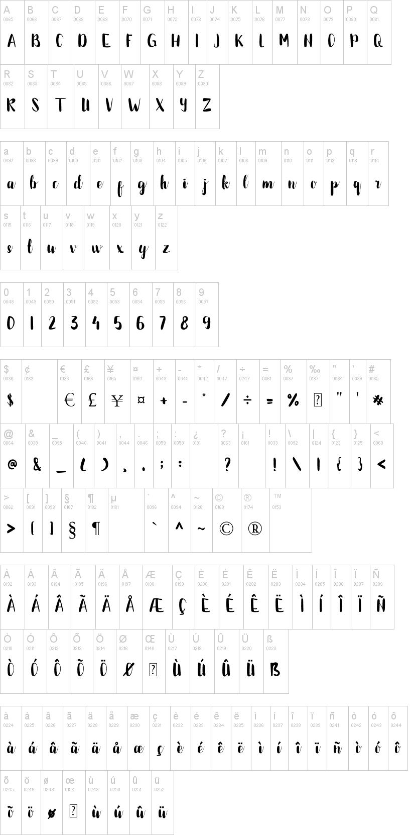Bettalia Font-1