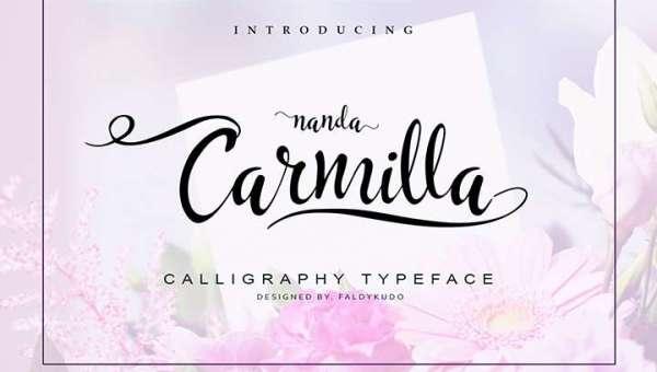 Carmilla Font
