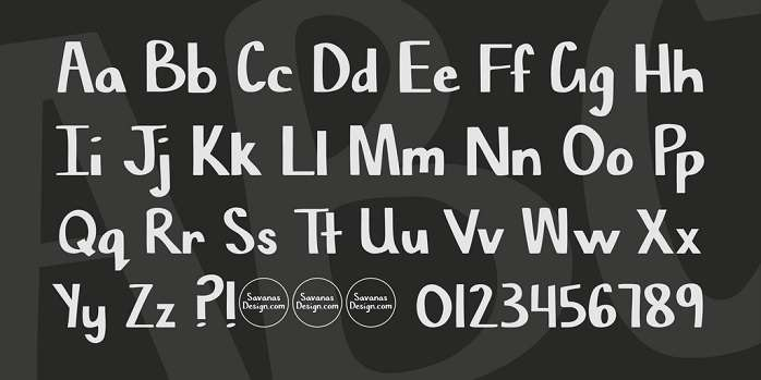 Chisel Mark Font-1
