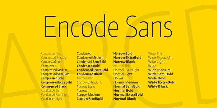 Encode Sans Condensed Font Family_compressed